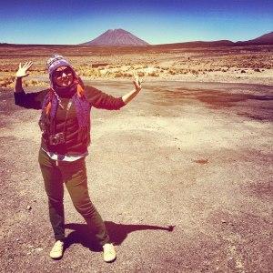 Misti Volcano Peru