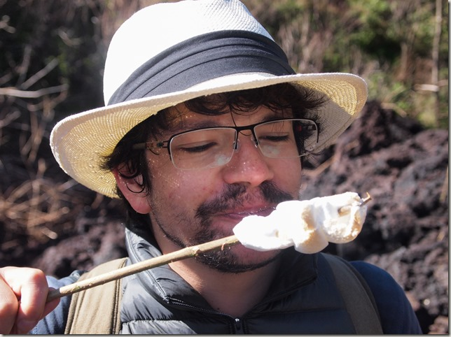 Marshmallows on Volcan Pacaya