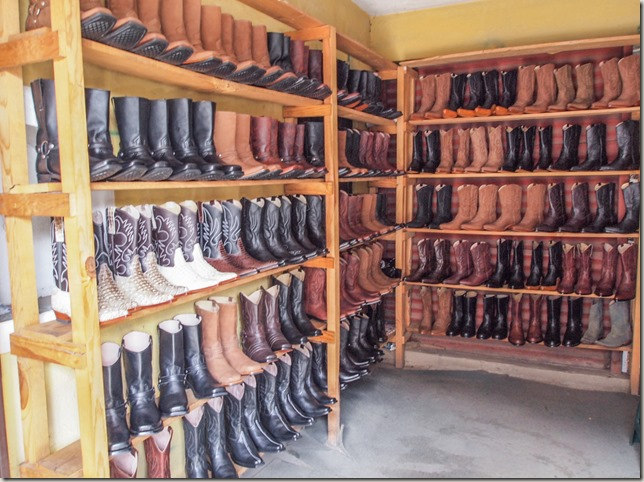 Cowboy boots in Pastores