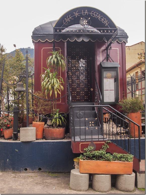 Cafe de l'Estacion Bogota