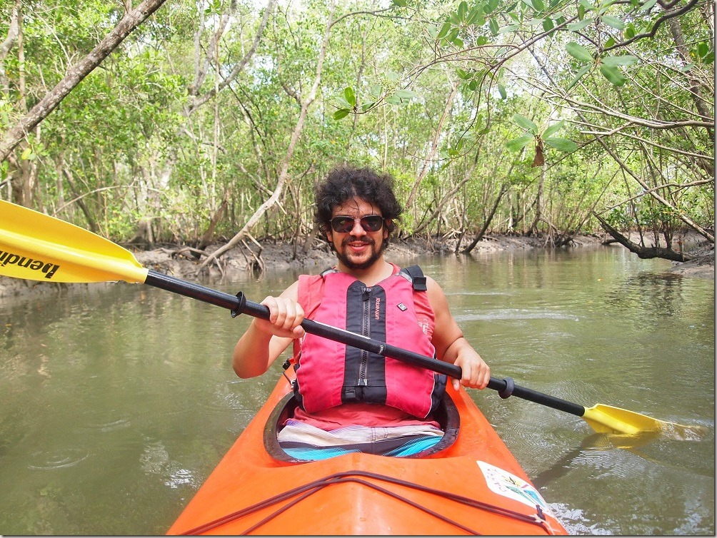 Paraty kayaking trip