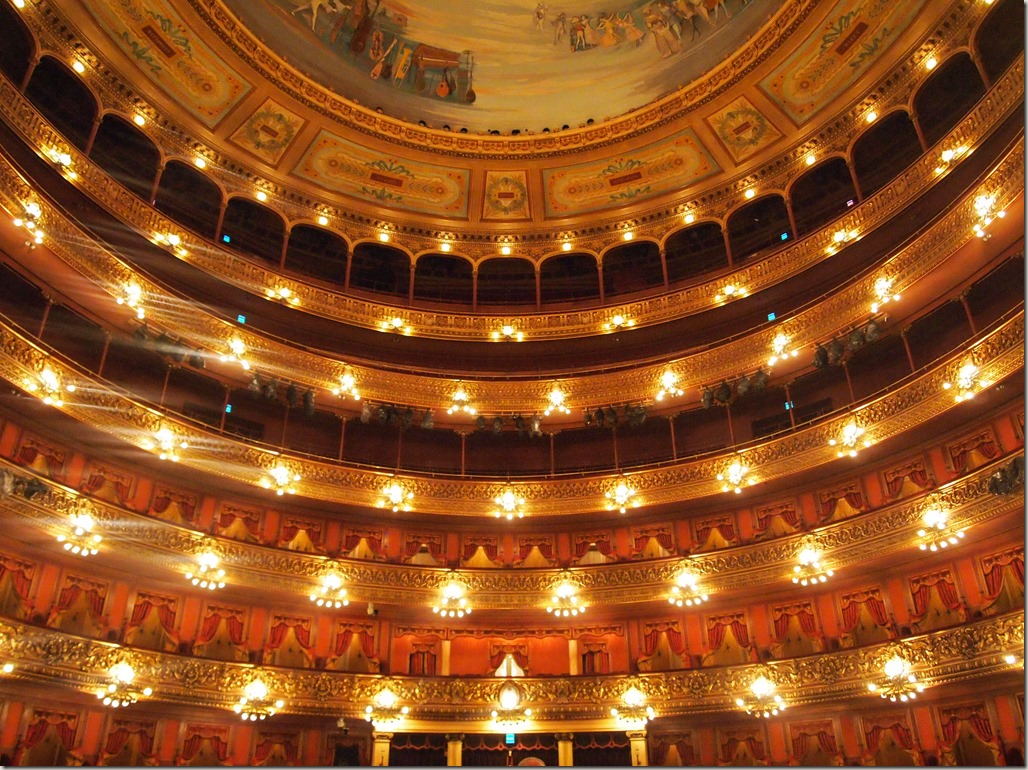 Buenos Aires opera house