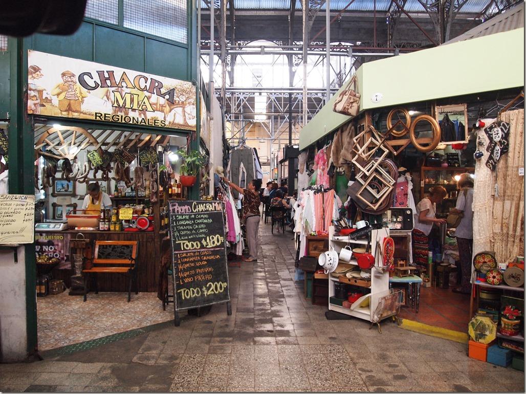 Buenos Aires market San Telmo