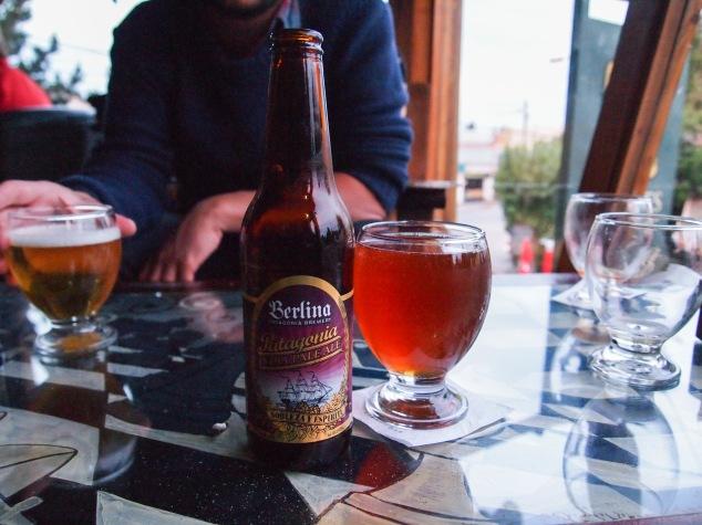 Berlina beer Patagonia