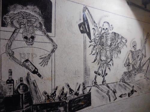 Mural at Fundo de los Nichos