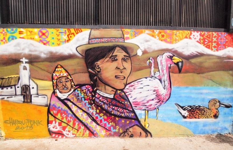 Charquipunk street art