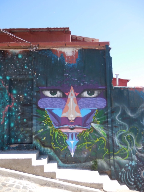 Street art, Valaparaiso