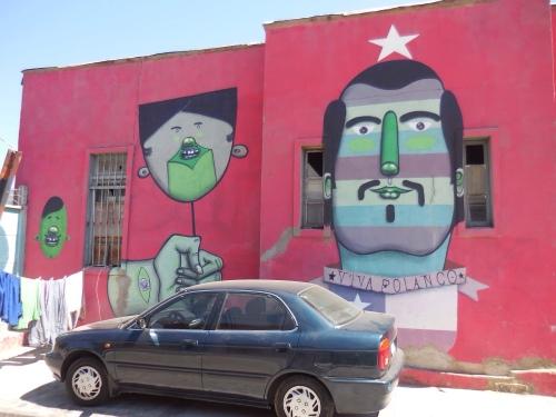 Street art, Valpariso