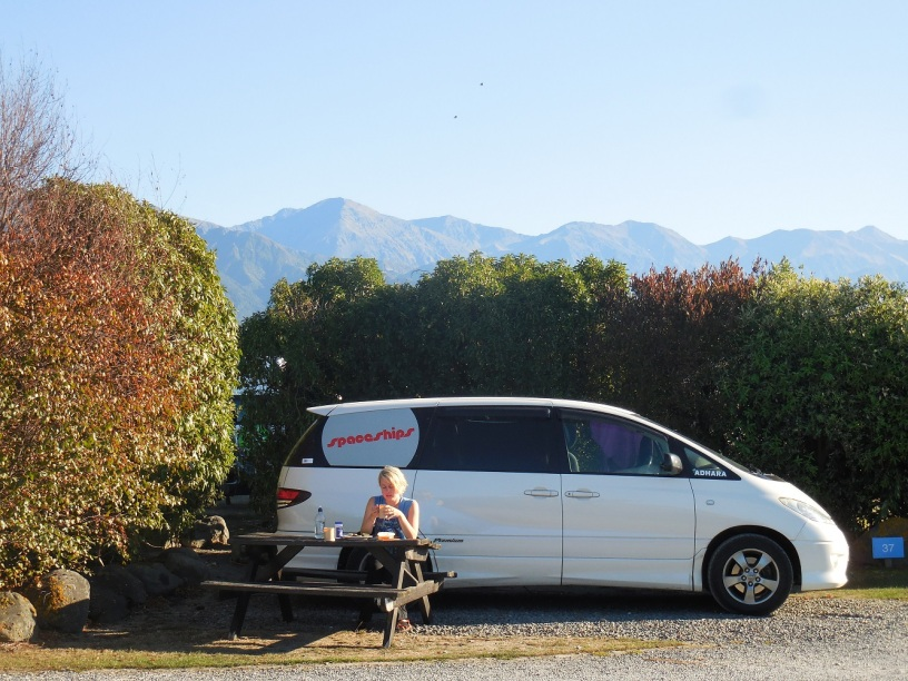 Camping in Canterbury New Zealand
