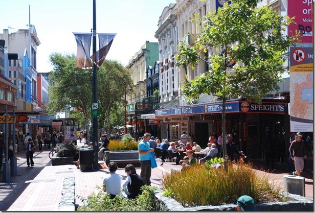 Cuba Street Wellington